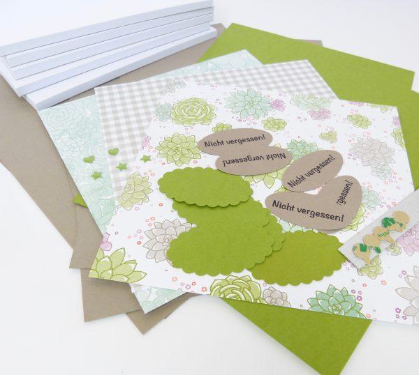 Kellnerblöcke Materialpaket