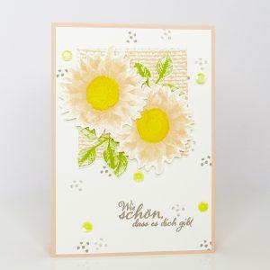 Sommerblumen, Wie schön, dass es dich gibt