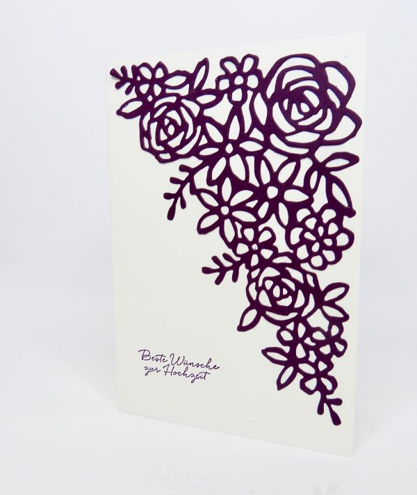 Hochzeitskarte Frühlingsimpressionen