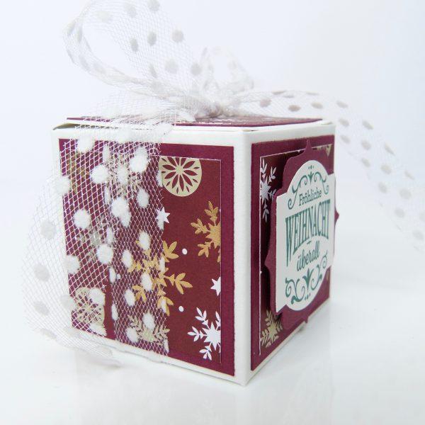 Fröhliche Weihnacht Überall - Merlotrot