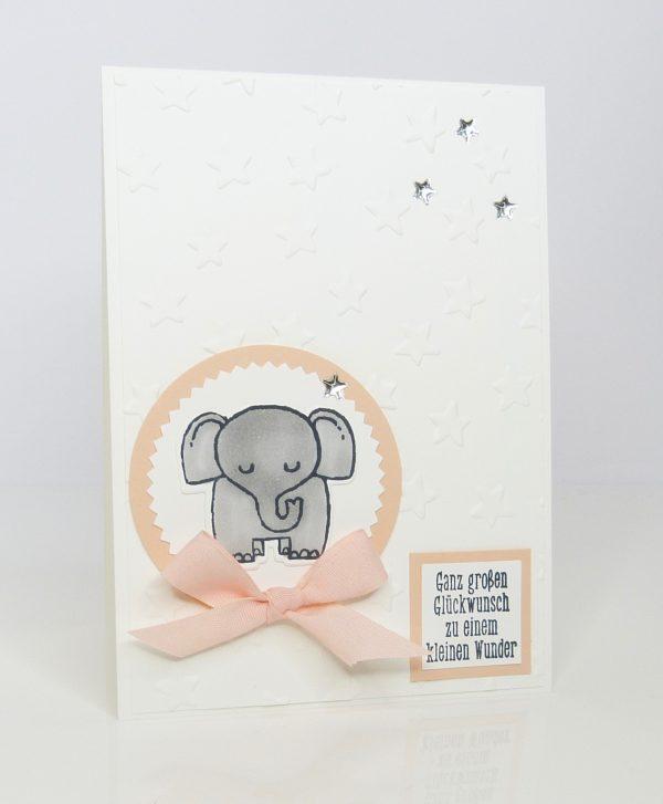 Tierische Glückwünsche zur Geburt für Mädchen