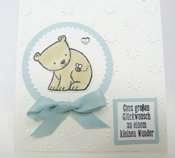 Tierische Glückwünsche zur Geburt