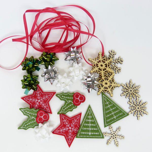 Weihnachtsbaum Materialpaket