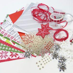 Weihnachten Materialpaket