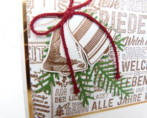Weihnachtskarte Fröhliche Weihnachten