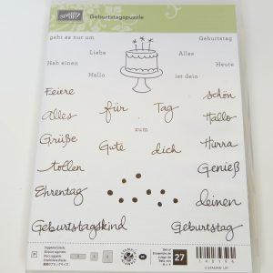 Geburtstagspuzzle