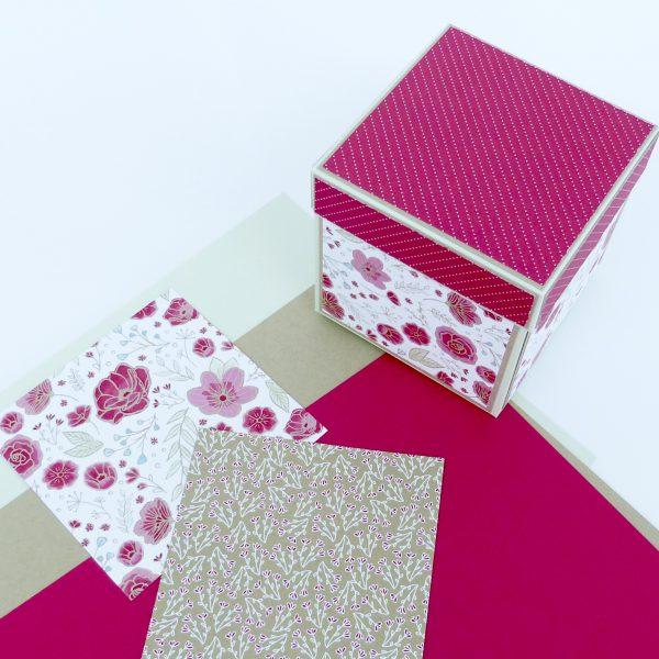 Materialpaket Explosionsbox