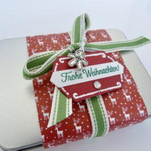 Geschenkdose Elch
